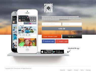 Shareaflash  - Share and collect photos