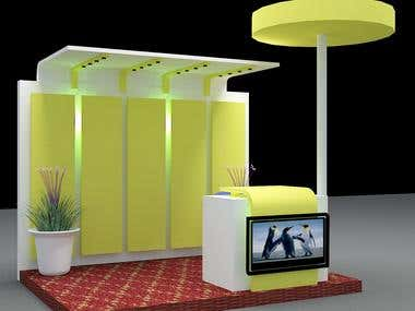 3D Exhibition Stall Design