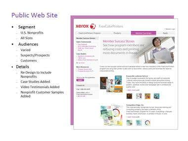 Xerox Web Content (Non-Profit Audience)