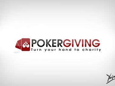 Poker Giving Logo