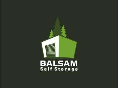 Balsam Self Storage Logo