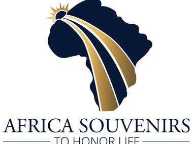 Africa Souvenirs Logo Design