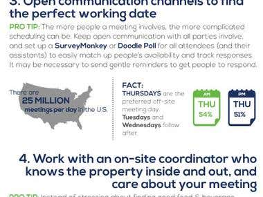 Corporate Meetings Information Graphic