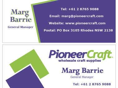 Freelancer Design A Business Card Competion Entry