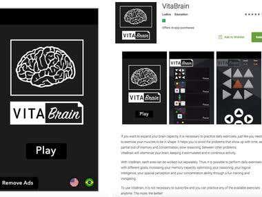 VitaBrain - Brain Games (iOS/Android)