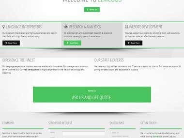Lexicous Pvt. Ltd. – Corporate Website