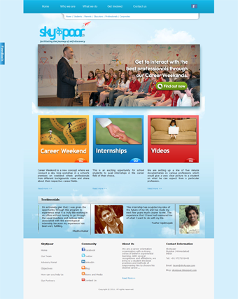 Sky K Paar Website Redesign
