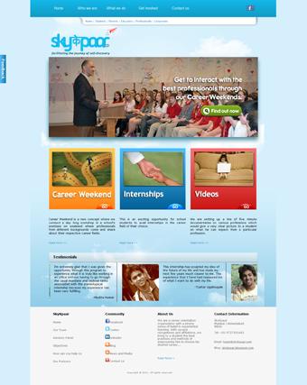 Sky K Paar Website Redesign