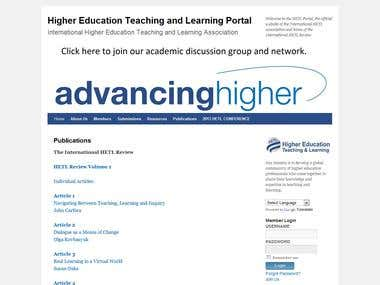Higher Education Teaching & Learning Portal