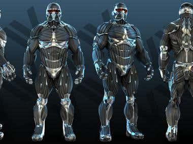 3D Nanosuit2