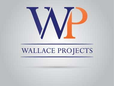 Wallace Projects Logo design