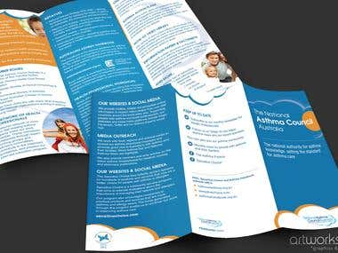 NAC tri-fold brochure