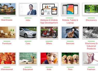 Classified ad posting site - WordPress