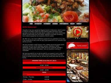 Website For Buffet Restaurant