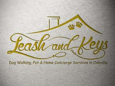 Leash and Keys logo