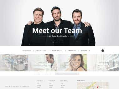 Dentists Website Design