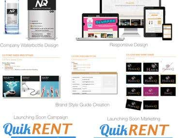 Graphic Design Work 2016