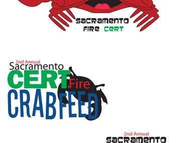 Crab Feed Logo