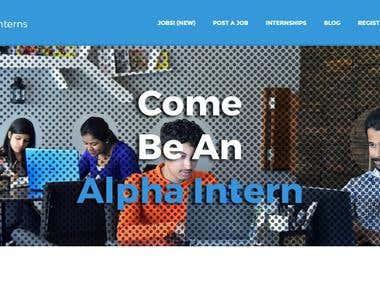 Internship | Jobs Portal