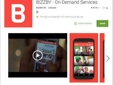 On Demand Service Mobile Application Like Cleaning services