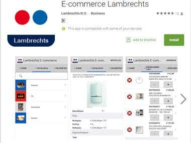 eCommerce Mobile Application