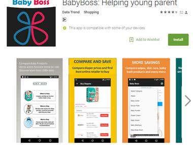 Compare Mobile application