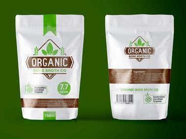 Organic Bone Broth Co Peackaging
