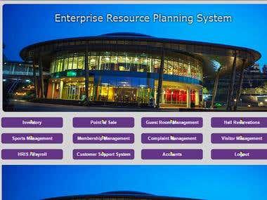Enterprise Resource Planning System ERP
