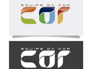 Equipe da Cor Logotipo