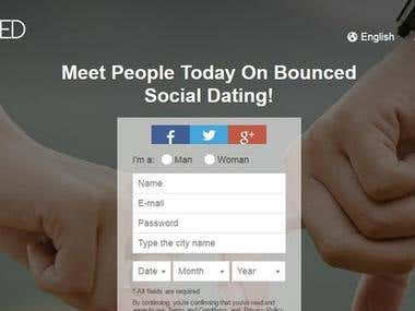 Dating Web Android and IOS Application