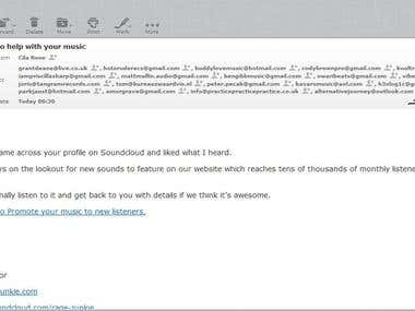 Bulk Email Sending