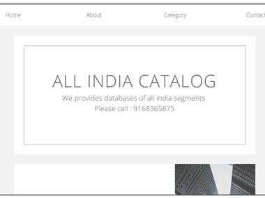 All India Catalog