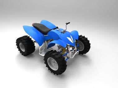 Designing of ATV or Quad Bike