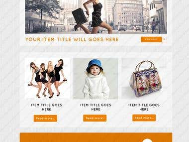 E-Newsletter PSD Template Designs