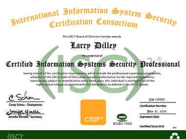 Certificate Illustration