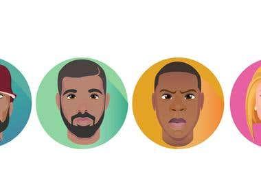 Celebrity Emoji Samples