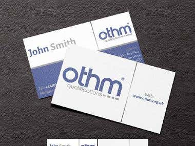 Othm business card