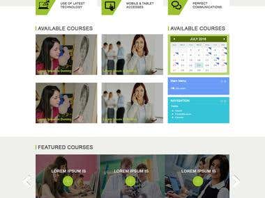Online E-Learning Platform