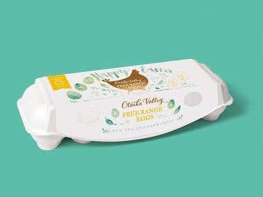 Tea Towel & Packaging Design