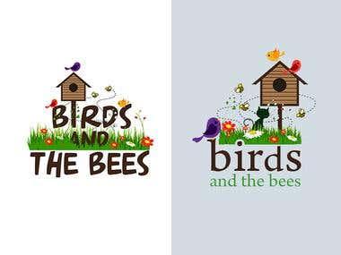 Birds & the Bees - Logo Design