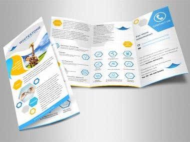 Whitestone - Professional brochure design