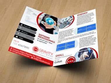 Gravity - Professional Brochure Design