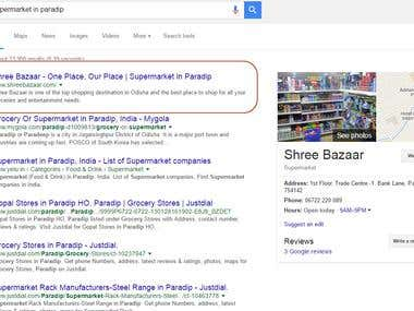 Local SEO for Supermarket