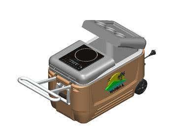 Outside Portable Cooler