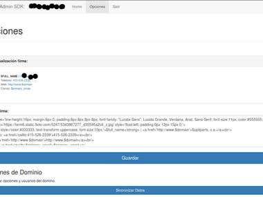Firma de correo personaliza para Google Apps for Works