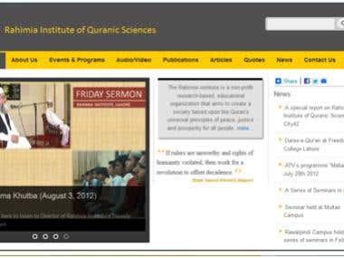 Rahimia Institute of Quranic Sciences