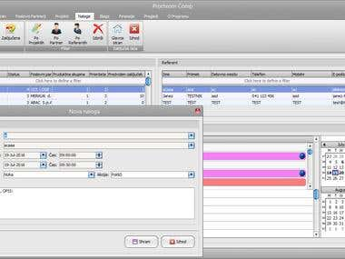 CRM desktop software