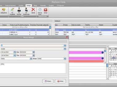 CRM desktop software