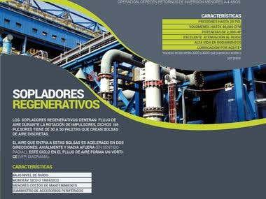 Diseño de catálogo de productos-servicios