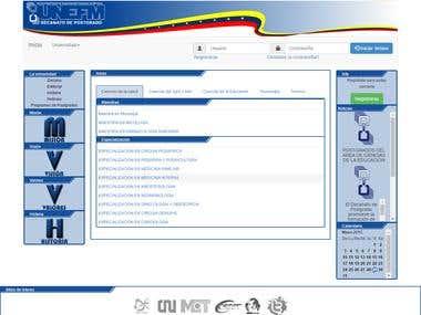 Pagina web Postgrado UNEFM V1.0